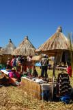 Tourist market, Floating islands
