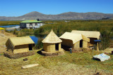 View from the third observation tower, Floating Islands, Lago Titicaca