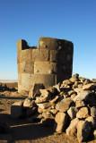 Chullpa tomb, Sillustani