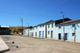 Dusty Plaza de Armas, Tiquillaca, Peru (Puno Region)