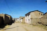 Main street of Vilque (3939m) 32km down the dirt road