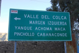 Valle del Colca - left (south) rim