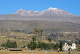 Village of Yanque with Hualca Hualca (6025m/19,767 ft), the first of the south rim villages