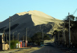 Huacachina is a popular tourist area just west of Ica