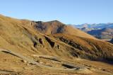 The road snaking up Pang-la Pass (5120m - 16,797 ft)
