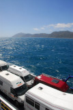3 hour sailing from the South Island