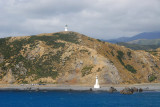 Pencarrow Head - the old lighthouse is on top