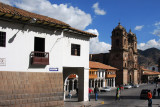 Entering the Plaza de Armas from the east, Cusco