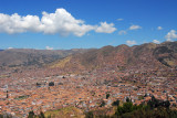 General view of Cusco from Sacsayhuamán
