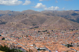 Cusco from Sacsayhuamán