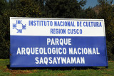 Parque Arqueologico Nacional Saqsaywaman