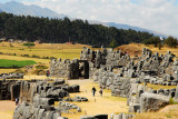 After the revolt was put down, the Spanish used Sacsayhuamán as a quarry and destroyed 80%