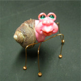 Wee Crabbie #6 - Sweet in Pink! Available at:  http://oddimagination.etsy.com