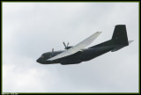 Dernier passage d'un Transal de la Luftwaffe.