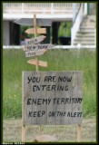 Ennemy territory! Be careful!