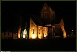 Illumination de l'eglise.