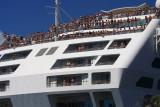 Princess Cruise Ship leaving port