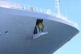 Princess Cruise Ship waving good-bye