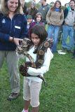 Big snake, little girl