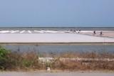 Salt farming near Laem Pak Bia