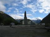 Alexander Kazbeg's statue