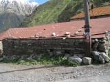 Gergeti village