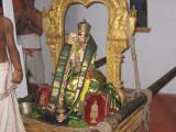12-EmeprumAnar after mariyAdhai -The green vasthram- at EmbAr jEyar matam.jpg