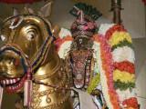 Sri Parthasarathi on Gudirai vahanam - Vijayadasami purappadu3.jpg