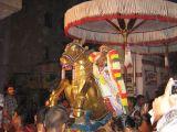Parthasarathy on Vijayadhasami day going for Paarvettai.JPG