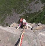 July 08 Cioch Nose climb in Applecross