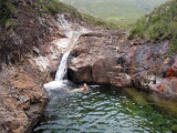 July 08 Rockpool dip near Marsco