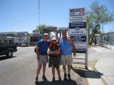 At the Mexican border