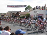 Tour of the Gila cycle race in Silver City NM