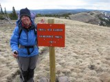 Dangerous Trail- but we had already hiked there!