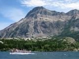 Waterton Lake boat