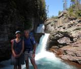 St Mary Falls, Glacier NP
