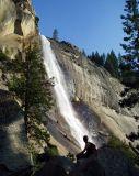 Nevada Falls in Yosemite Valley, California