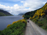Jun 08 Ben Alder cycle approach from Dalwhinnie