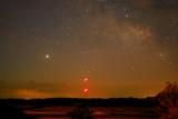 Jupiter & The Milky Way