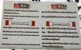 MAG Mine advisory, Plain of Jars, Phonsavan, Xieng Kouheng, Prov. Laos.