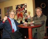 Finally, sampling Mumm's brut champagne