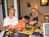 Brigitte B and Jean-Pierre