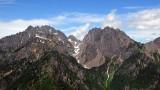 Warrior Peak and Mt Constance
