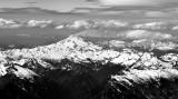 Glacier Peak hides Mt Baker