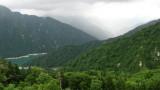 View across the mountains from Kurobe-daira