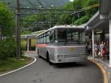 Trolleybus at Ōgizawa