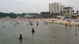 Utsumi's muddy water and beachfront