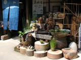 Pottery storefront