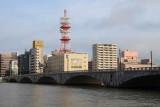 Bandai Bridge over the wide Shinano River