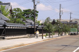 Street running through Shibata's Teramachi